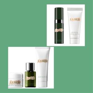 Makeup - La mer lamer set serum cream cleanser concentrate